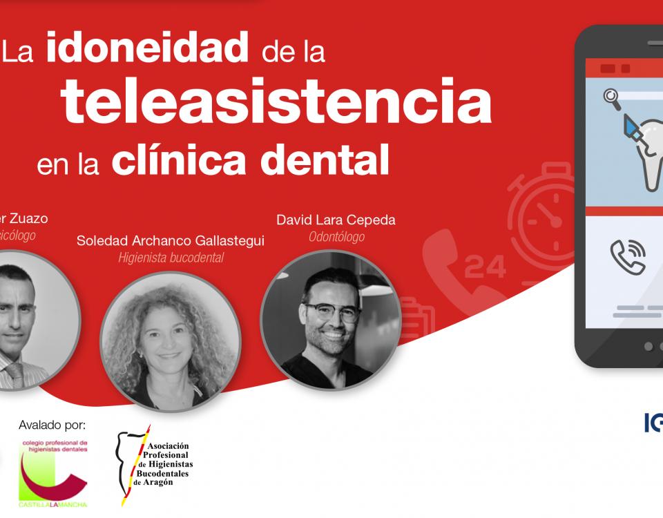 La idoneidad de la teleasitencia en la clínica dental- Charla IEFS